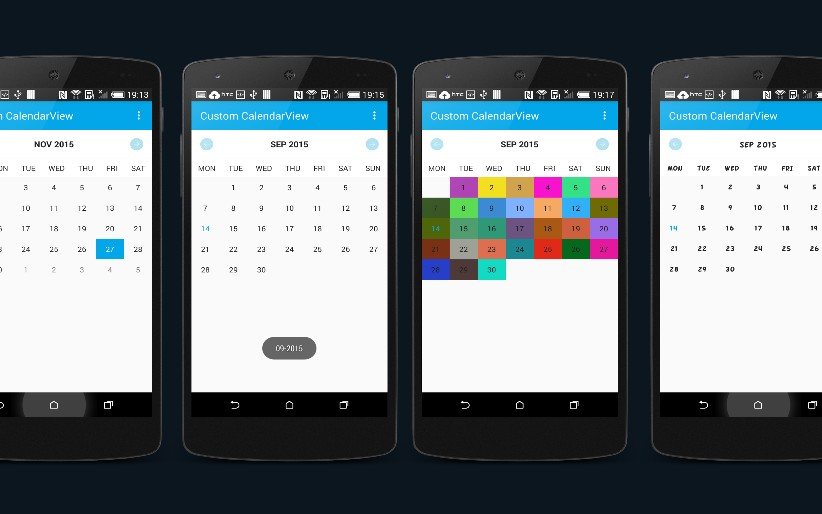 Create a CustomCalendarView Library In Android - DZone Mobile