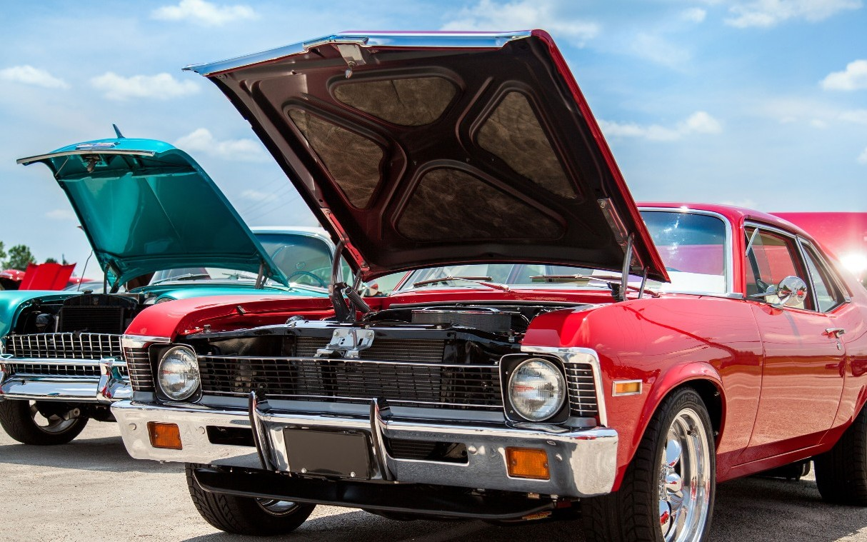 An overview of the characteristics of the american muscle cars ...