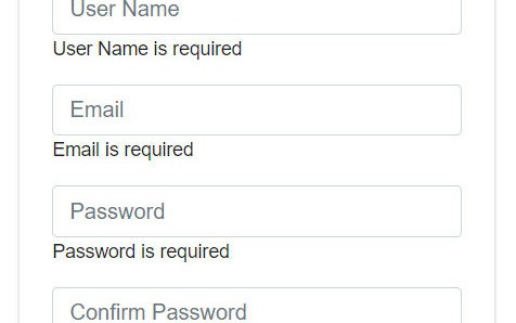 Validation Using Template-Driven Forms in Angular 5 - DZone Web Dev