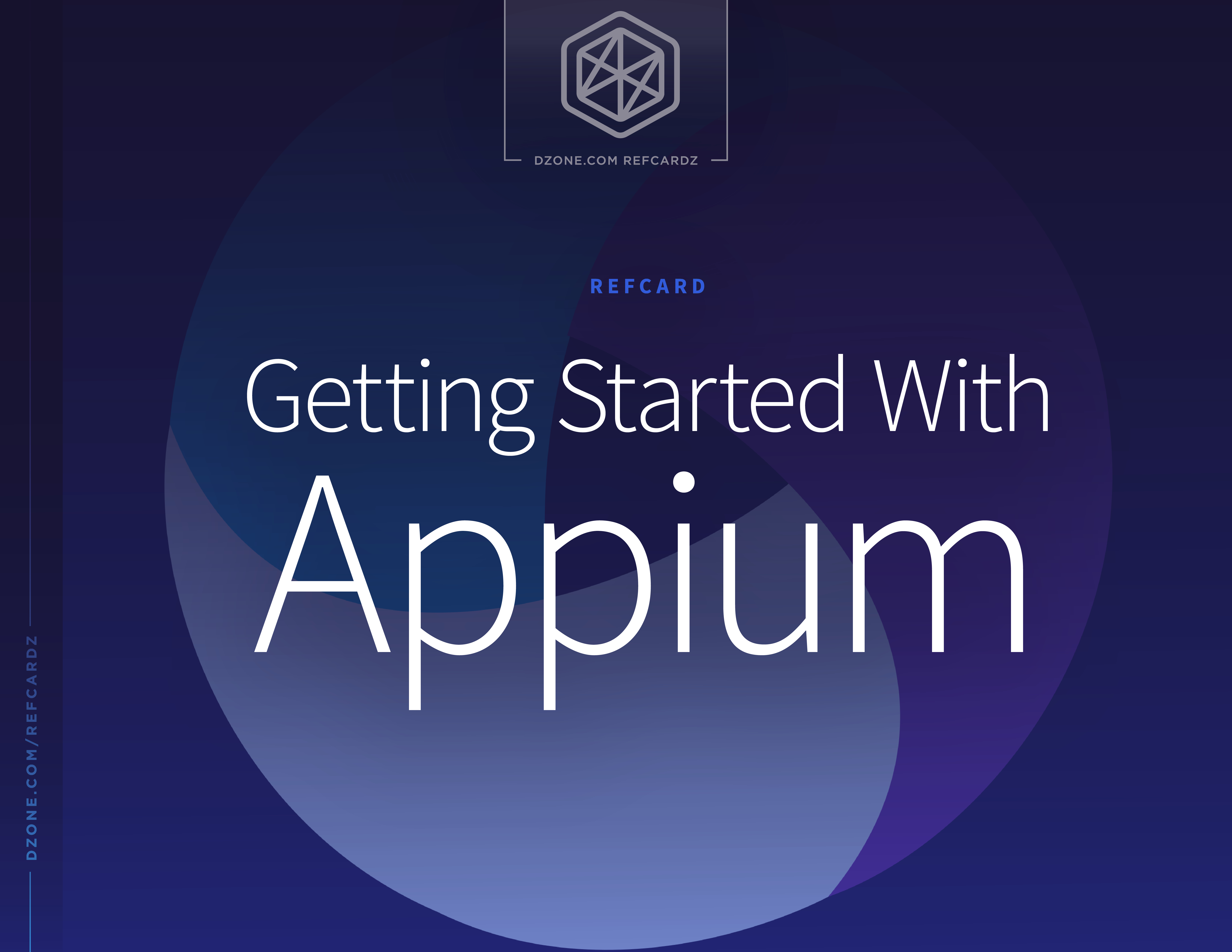 Getting Started With Appium - DZone - Refcardz