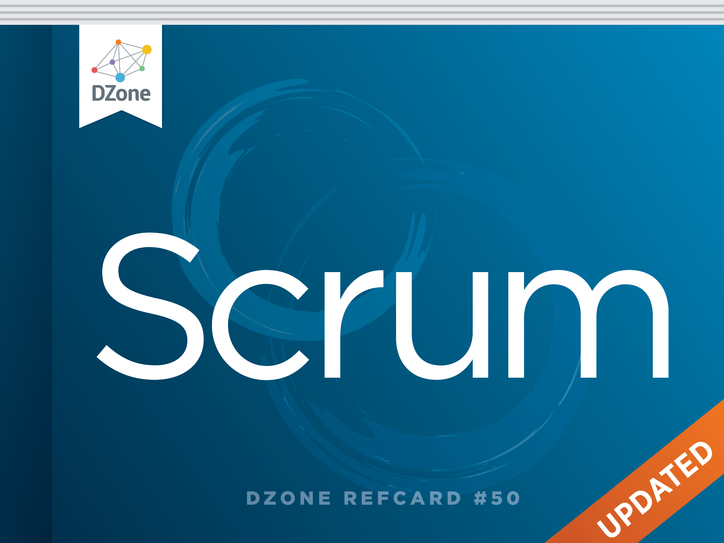 DZone Scrum reference card logo
