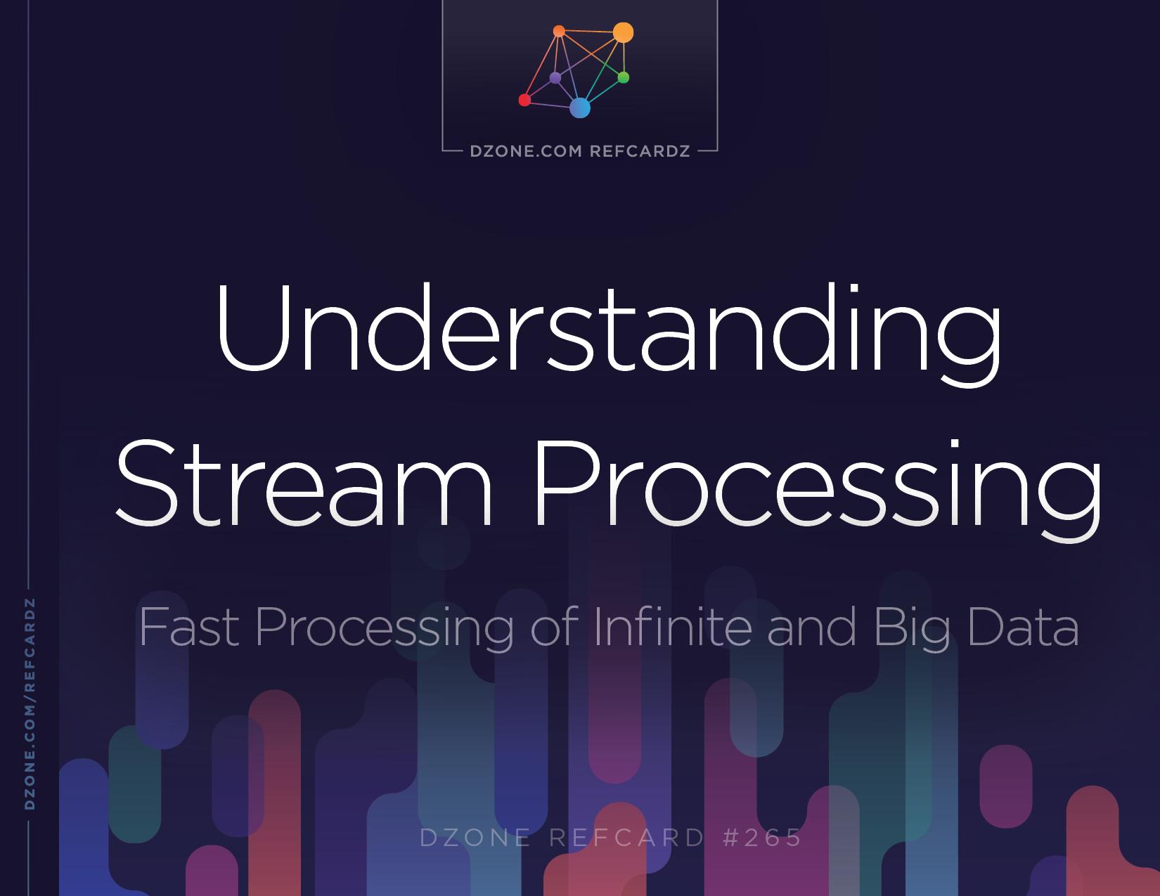 Understanding Stream Processing Dzone Refcardz Flink Wiring Diagram