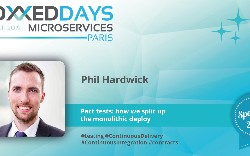 "Voxxed Days Microservices: Phil Hardwick on ""Pact Tests — How We Split up the Monolithic Deploy"""