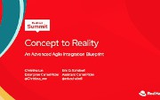 Red Hat Summit 2020 - Concept to Reality: An Advanced Agile Integration...