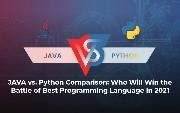 Java vs. Python Comparison: The Battle of Best Programming Language in 2021