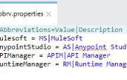 Reading Dynamic Values from a Property File in Dataweave 2.0 (Mule 4)
