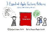 Three Essential Agile Failure Patterns in 7:31 Minutes