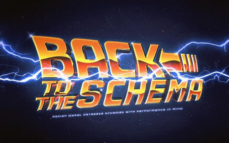 MySQL Schema Design: Back to The Future?